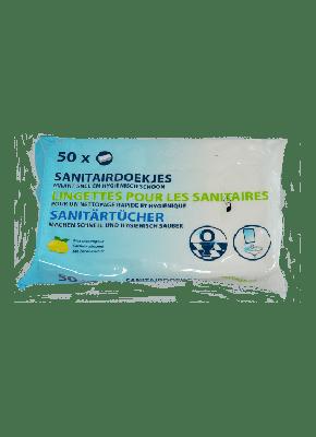 wibraprofessionnel.be Lingettes hygiéniques, 50 pièces par paquet